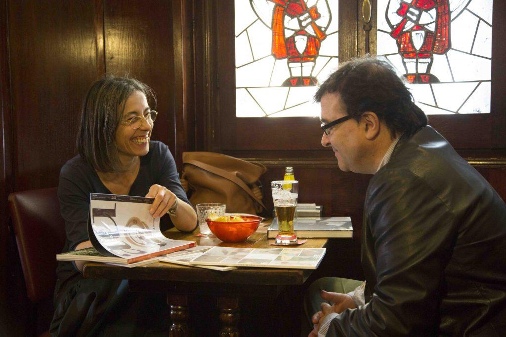 Carme Pigem (RCR Arquitectes) en conversación con Javier Cercas.