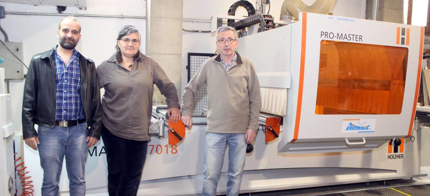 La cuarta generación GIRIBET apuesta por la carpintería 2.0