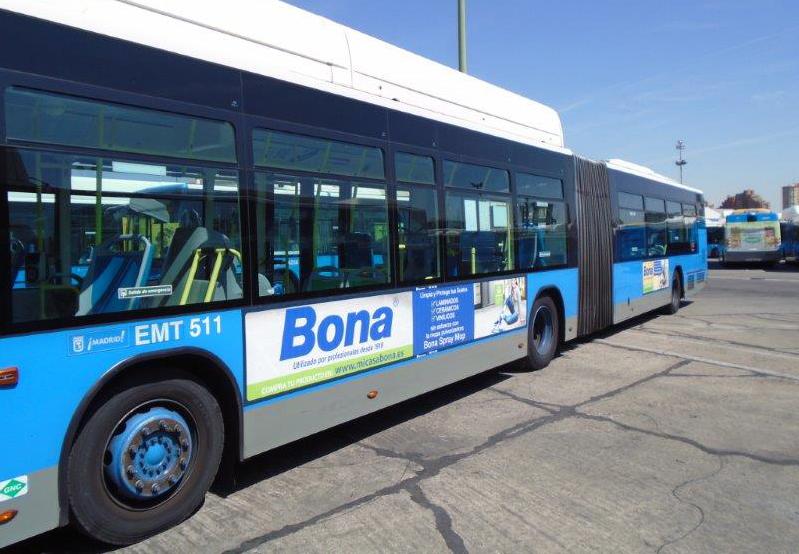 La marca BONA se pasea por las calles de Madrid