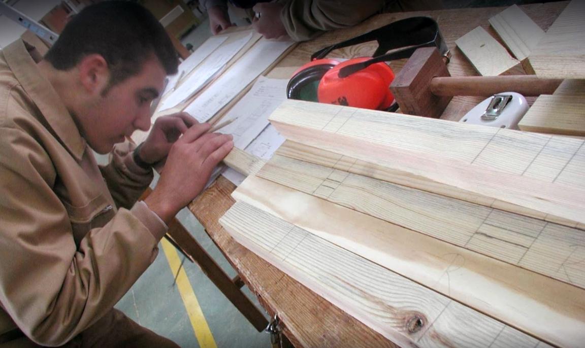 Aumenta en España la oferta de los cursos de formación sobre madera, mueble y corcho