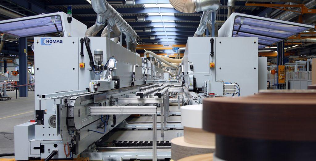 En vivo, una planta altamente flexible de producción de puertas para el tamaño de lote 1.