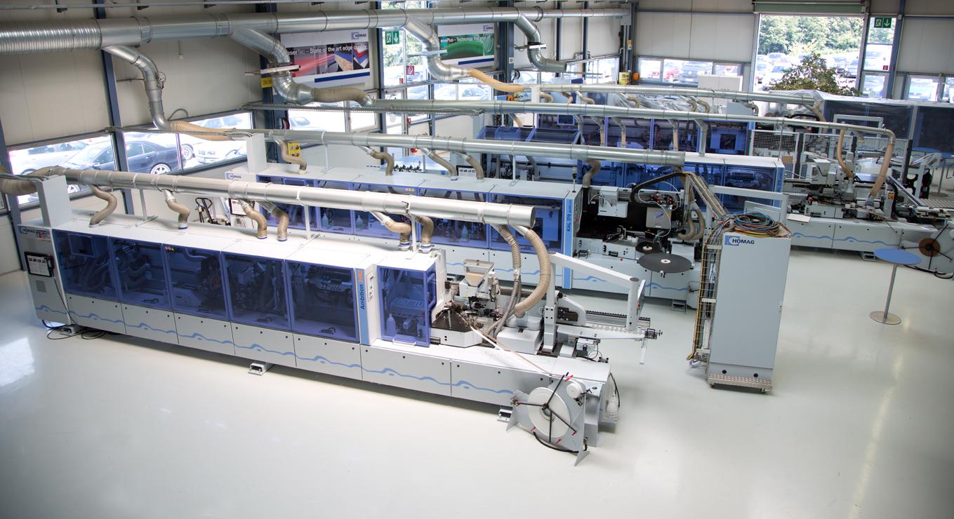 La producci n alemana de maquinaria para la madera est a for Maquinaria y utensilios para la produccion culinaria