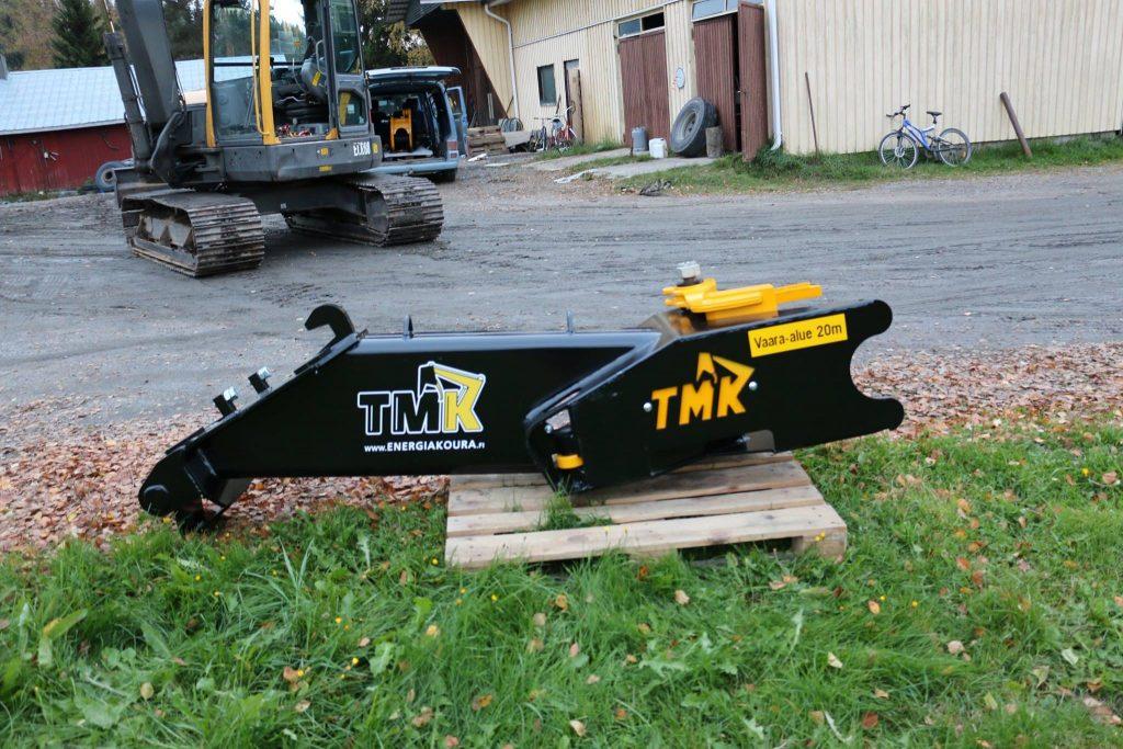 Balancín de extensión para la cizalla TMK.