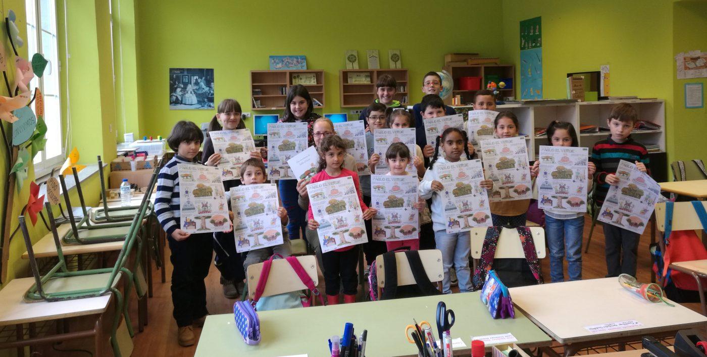 """""""Las aventuras de Pablo el Verde"""" llega a los colegios asturianos"""