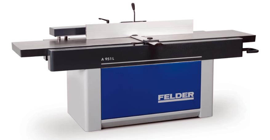 FELDER presenta la cepilladora-planeadora A951L