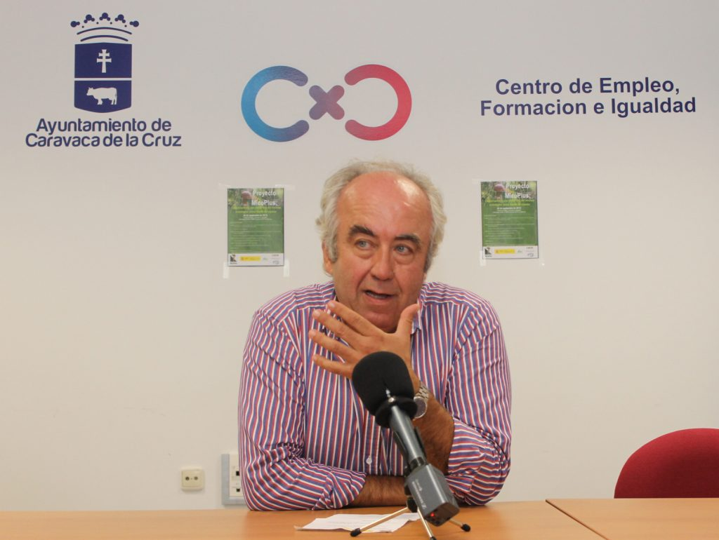 Francisco Carreño, Presidente de COSE y de PROFOMUR, la Asociación de Propietarios Forestales de la Región de Murcia.