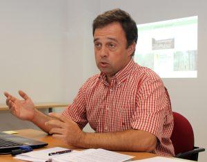 Pedro Medrano Ceña, gerente de la Asociación Forestal de Soria.