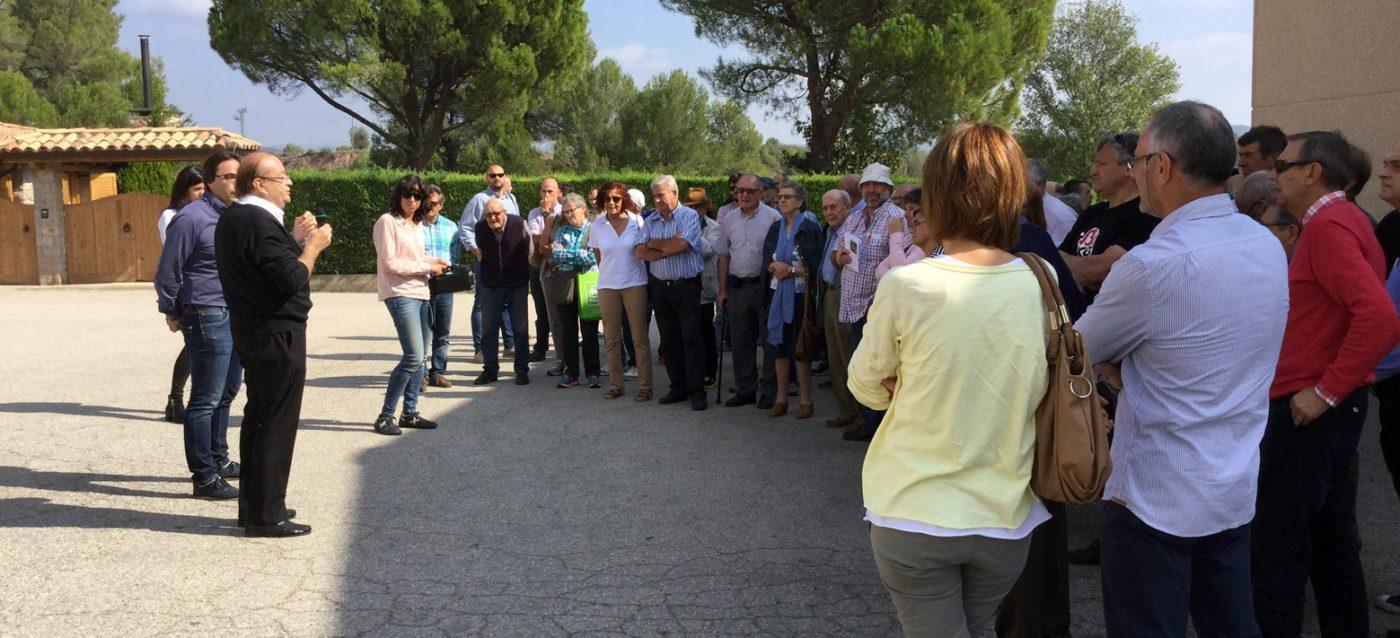 Propietarios forestales de Cataluña visitan TALLFUSTA
