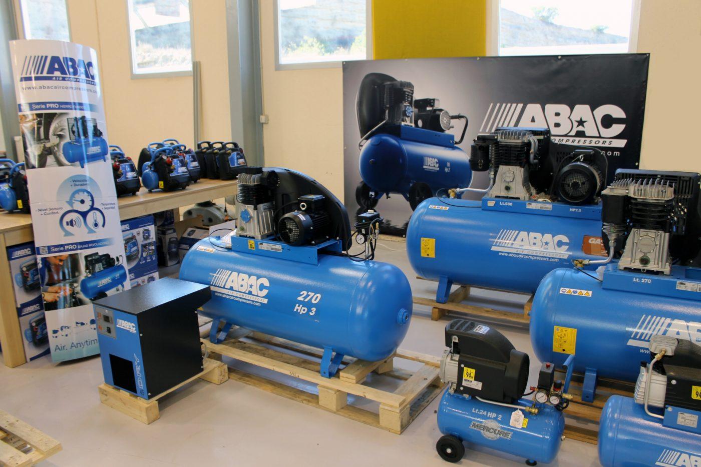 Nuevos compresores de tornillo ABAC