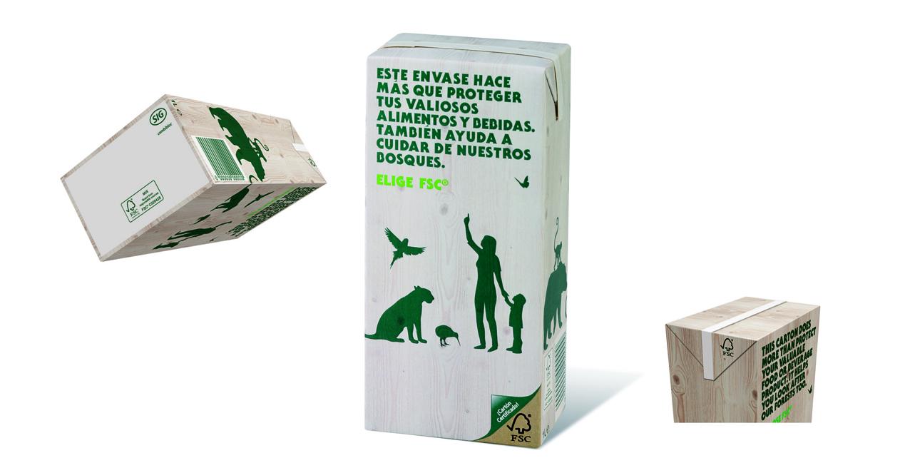 Todos los envases de SIG Combibloc cuidarán de los bosques