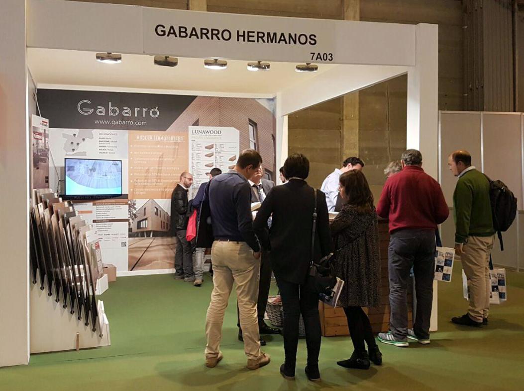 Gran afluencia de público al stand de GABARRO en Construtec