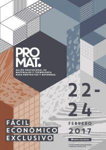 Imagen de PROMAT, realizada por el estudio valenciano de diseño Sleeplate Projects.