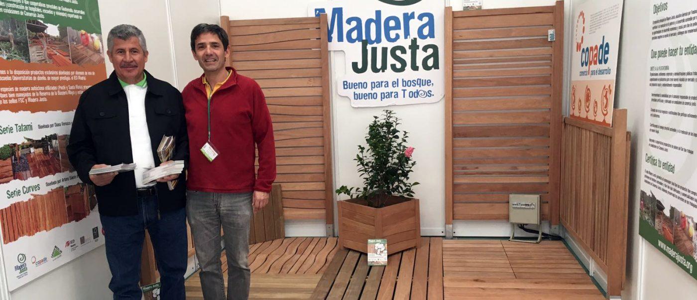 MADERA JUSTA, en la Feria de Proveedores de LEROY MERLIN