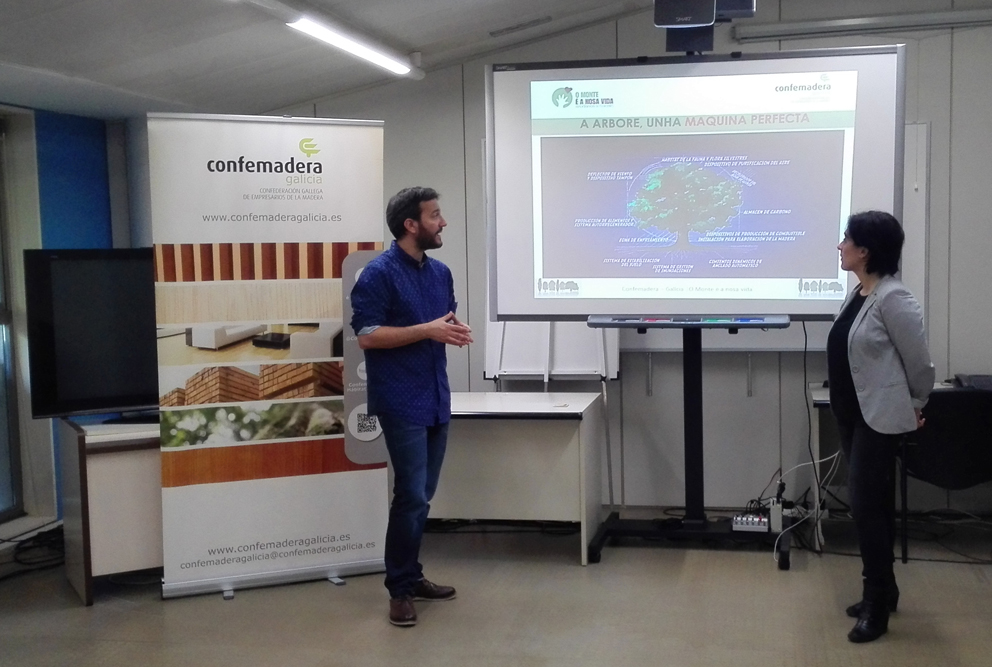 Los escolares gallegos descubren los valores de los bosques
