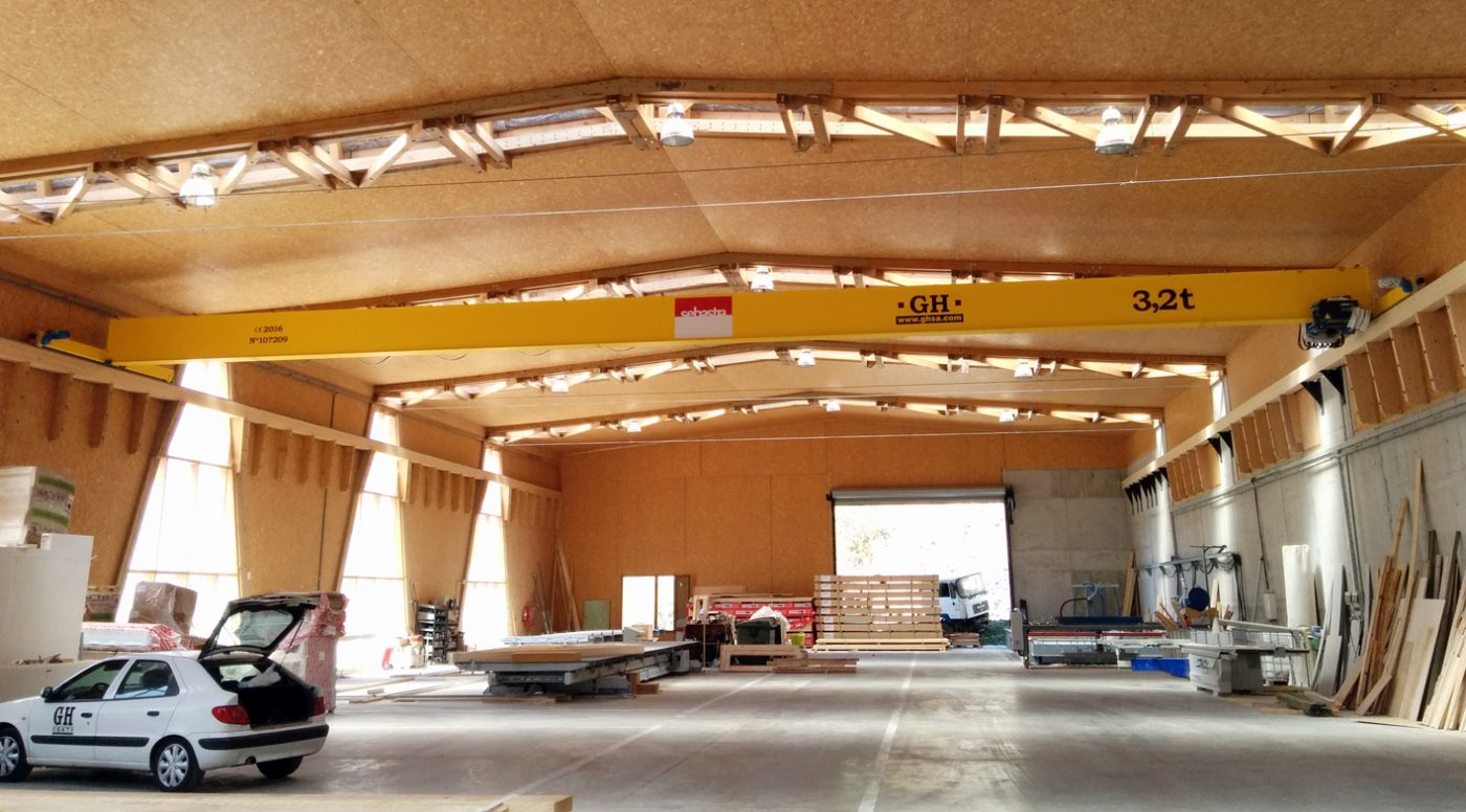 FUSTES SEBASTIA muestra la resistencia de la madera como elemento constructivo