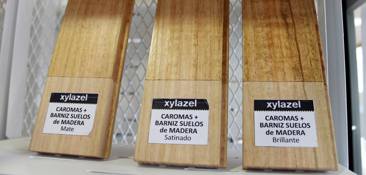XYLAZEL en la Galería de Materiales del COAM