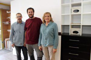 Josep Canals, junto a su esposa Teresa y su hijo Xavi son los propietarios de CASALS Armaris.