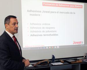 Philippe Esvelin, responsable de las ventas de JOWAT en España y el norte de África