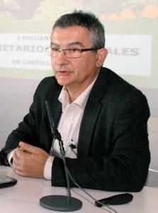 Lorenzo A. Rodríguez Martín, funcionario del Servicio de Gestión Forestal de la Junta de Castilla y León.