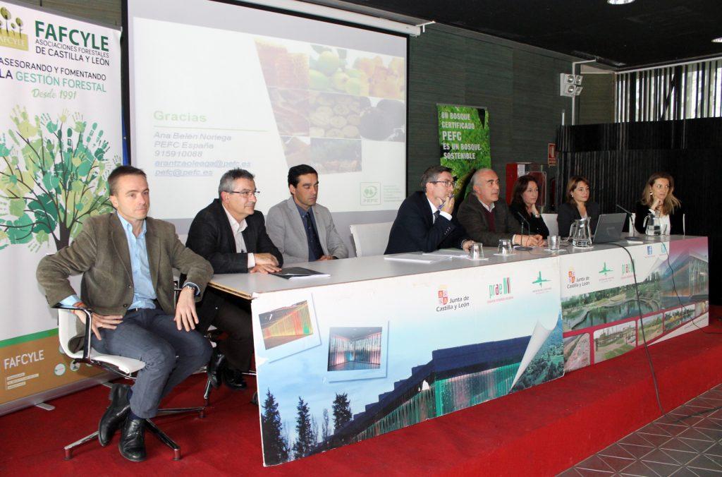 La jornada conmemorativa del 25 Aniversario de FAFCYLE concluyó con una mesa redonda sobre los problemas, retos y oportunidades de los propietarios forestales privados de Castilla y León.