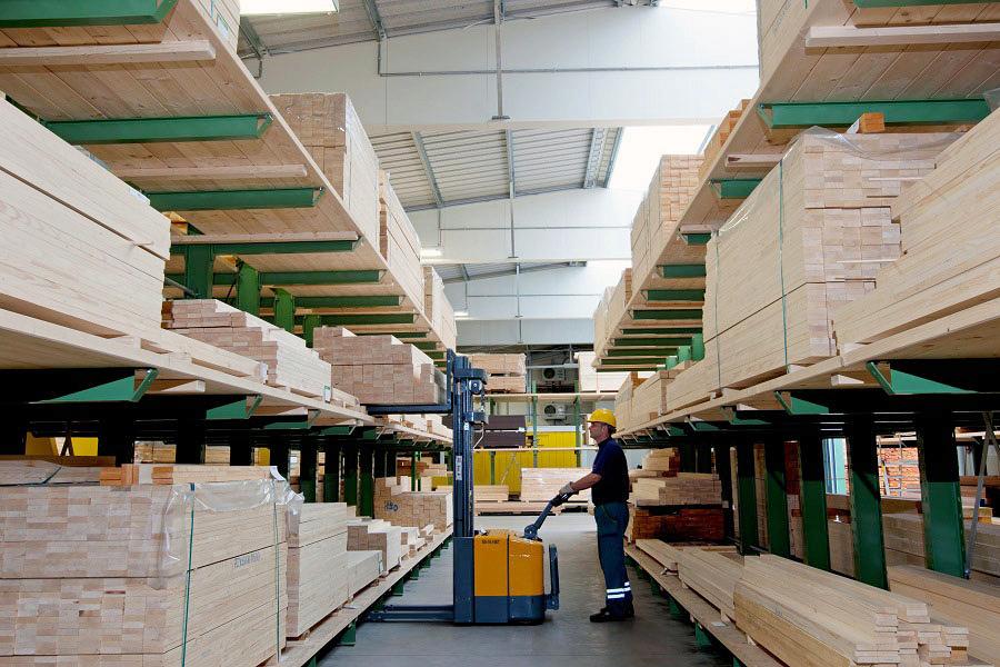 HAPex: Almacenamiento seguro, flexible y eficiente para materiales de madera