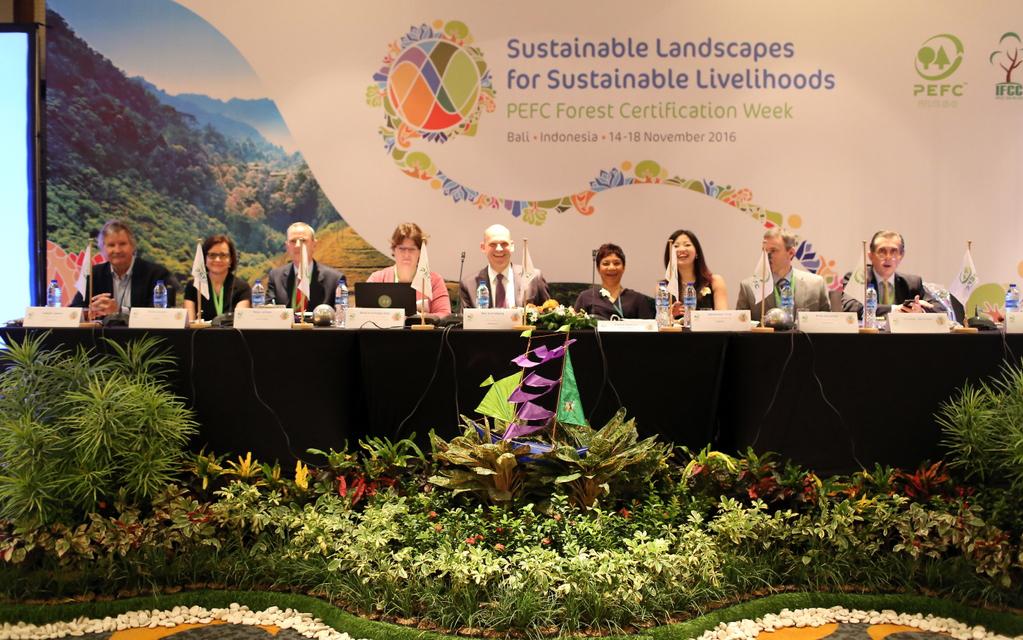 Más de 300 millones de hectáreas y cerca de 19.000 empresas en todo el mundo cuentan con el sello PEFC