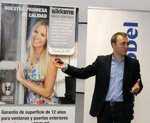 José Luis Rivero, responsable de las ventas de SIKKENS en España y Portugal.
