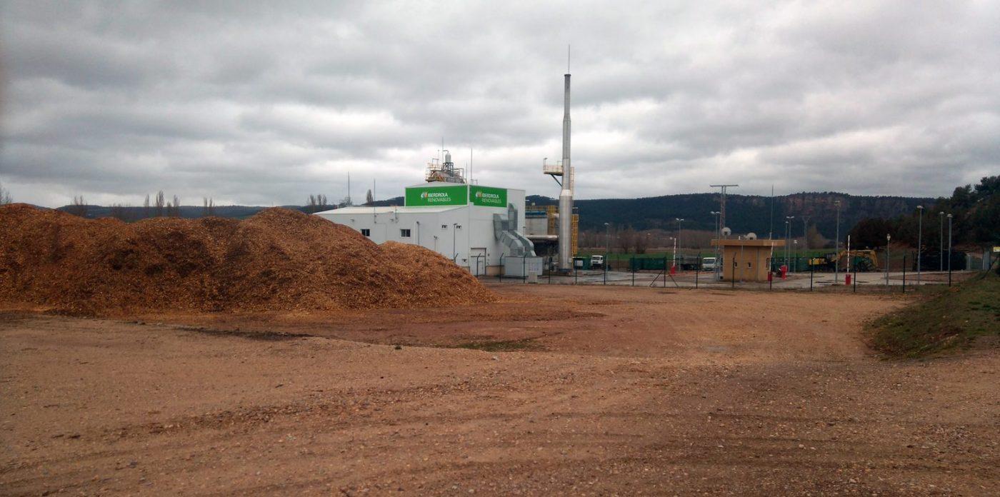 La central de biomasa de Corduente funcionará con normalidad este año