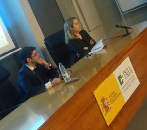 Marc Pahalí ha ofrecido su primera conferencia en España en el Instituto Nacional de Investigación y Tecnología Agraria y Alimentaria (INIA).