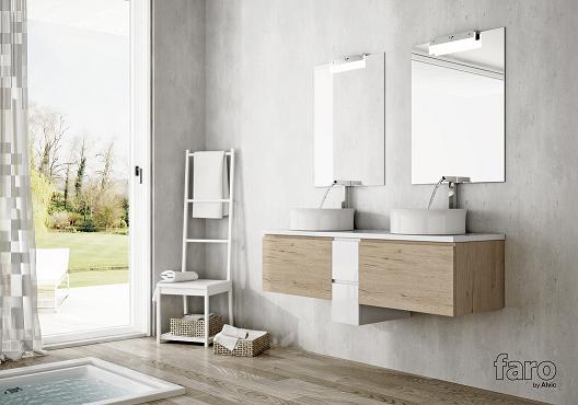 FARO by ALVIC presenta en Cevisama su colección de baños