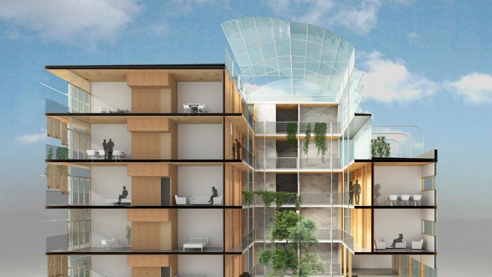 EGOIN construirá el edificio de madera más alto de España