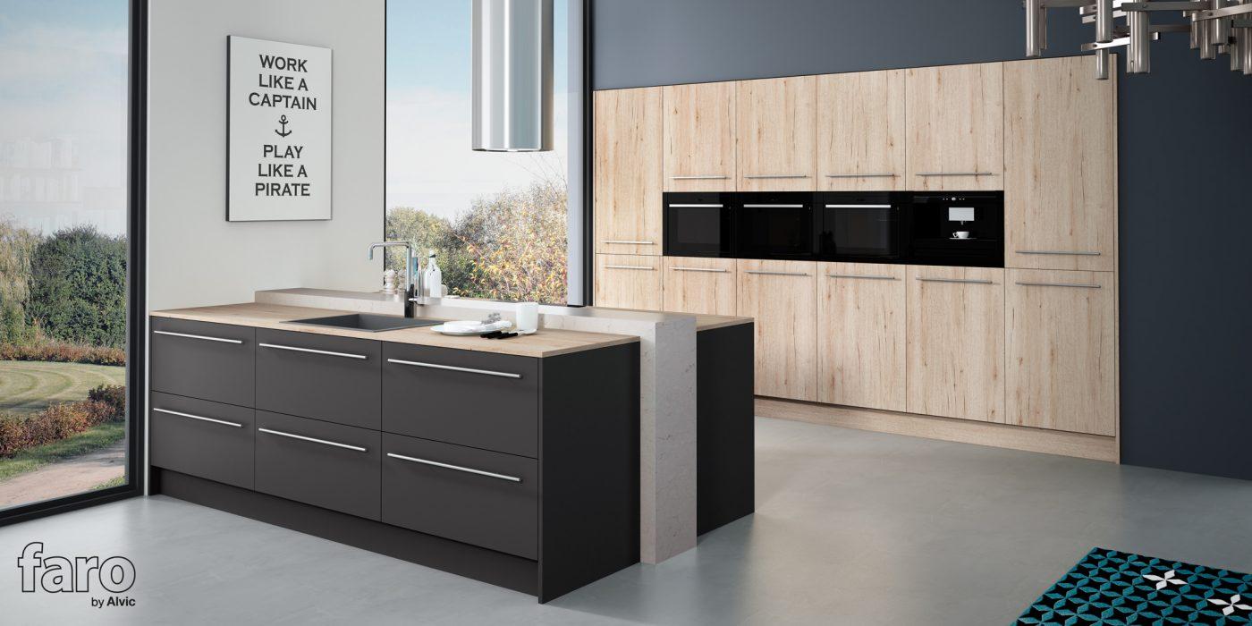 FARO by ALVIC lanza su nueva colección de cocinas