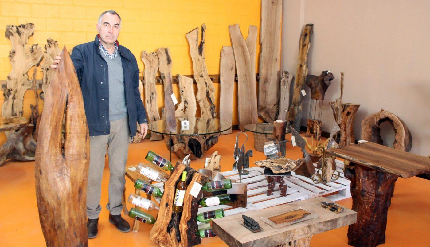 Piezas de madera únicas y exclusivas, en LA CREARTECA