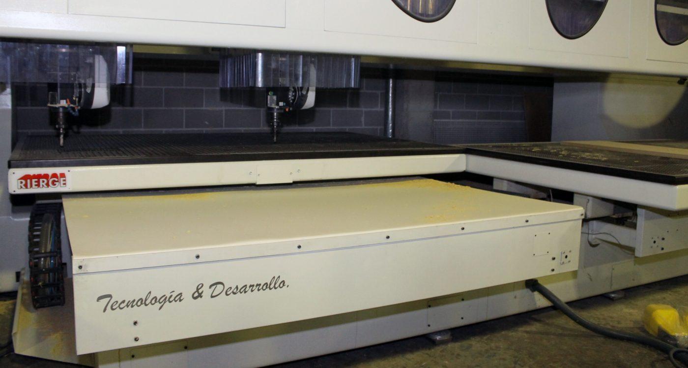TIRDESAL busca máxima flexibilidad en su producción con un 5 ejes de RIERGE