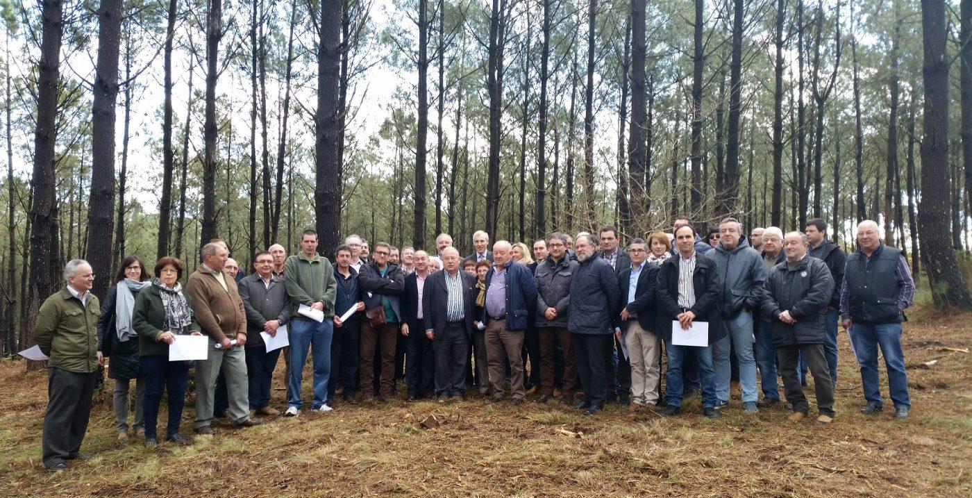Asociaciones, Industria, Propietarios y Administración celebran juntos en Galicia el Día Internacional de los Bosques