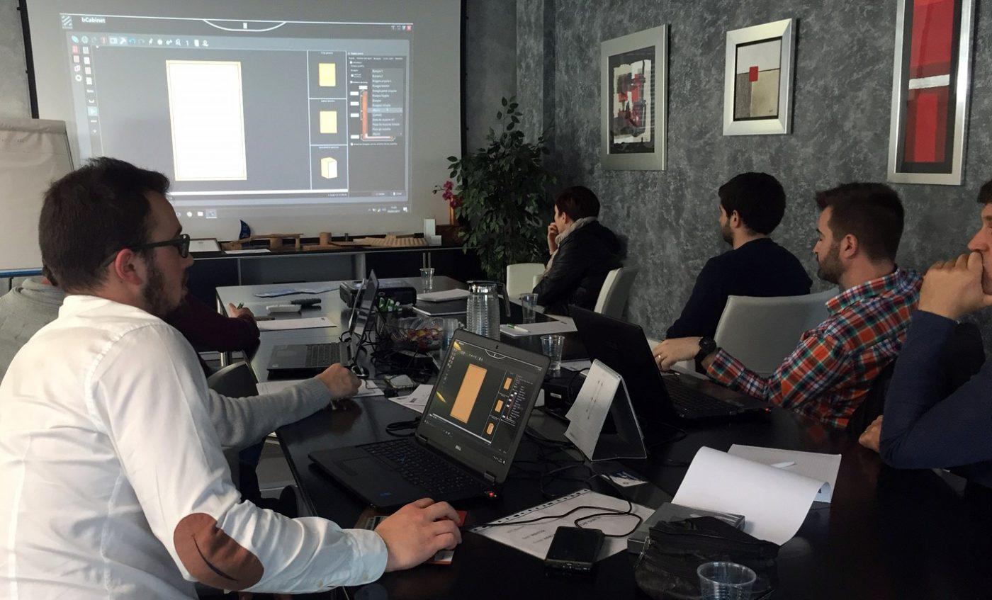 BIESSE Ibérica imparte un curso sobre su software bSolid y bCabinet