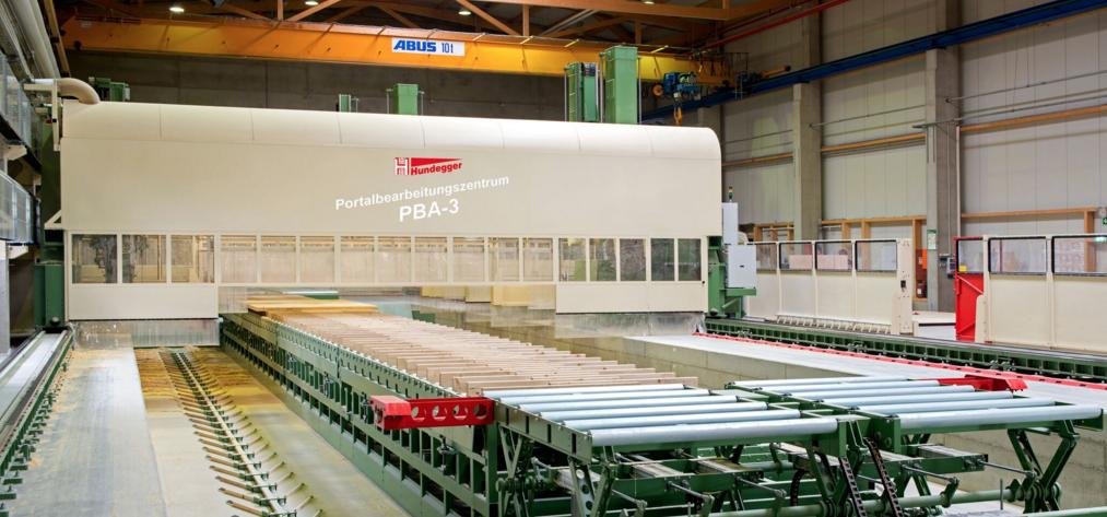 HUNDEGGER registra en España un incremento de proyectos para fabricar entramado de madera