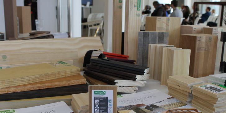 Gamiz presenta accoya la madera duradera estable y - Maderas lamelas ...