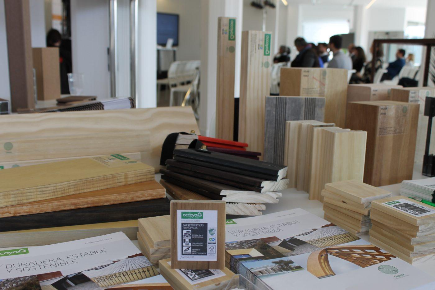 GAMIZ presenta ACCOYA: La madera duradera, estable y sostenible