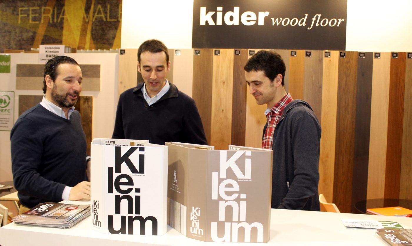 KIDER WOOD FLOOR, en el Forum Construcción Madera