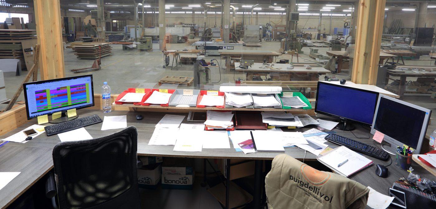 PUIGDELLIVOL bate el récord de generaciones de carpinteros