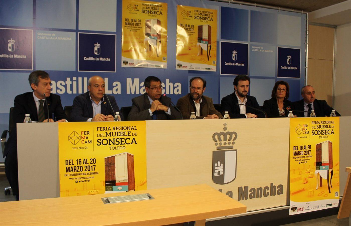 Cuarenta y un expositores participan en la XXIV Feria Regional del Mueble y Afines de Sonseca