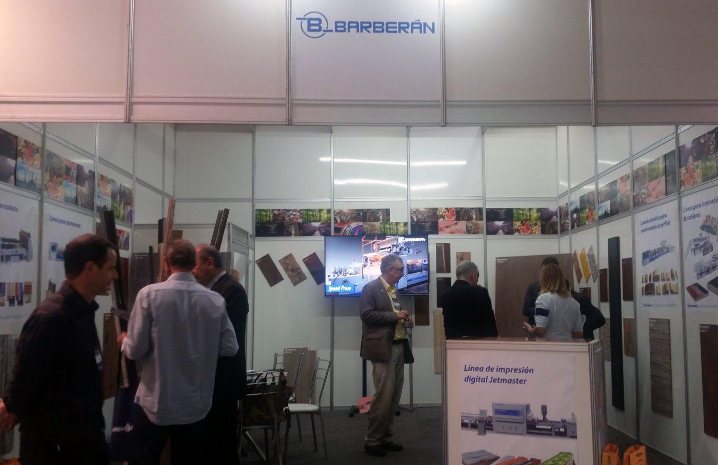 BARBERAN muestra su tecnología para la impresión digital en FIMMA Brasil