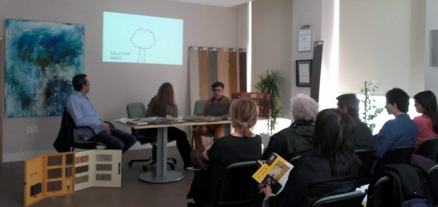 LYSSOLEN destaca ante los Decoradores de Zaragoza las ventajas que reporta utilizar madera en rehabilitación y construcción