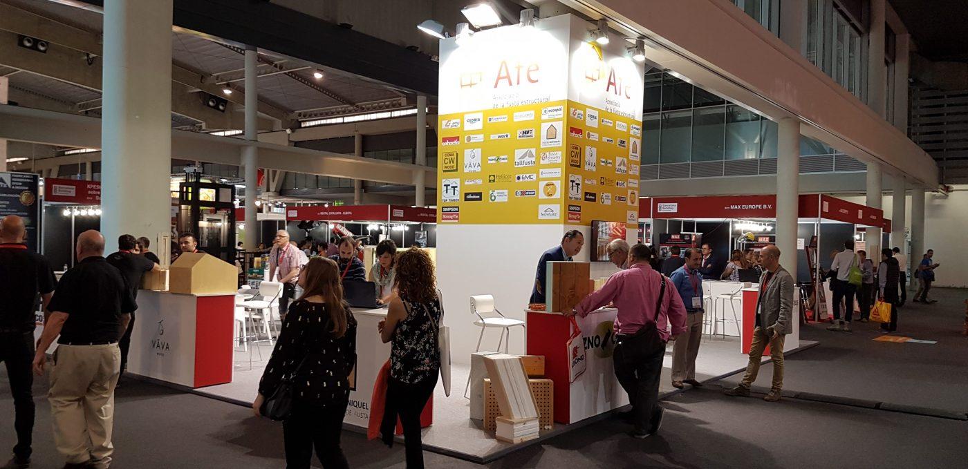 Creciente interés por el sector de la construcción con madera en Barcelona Building Construmat