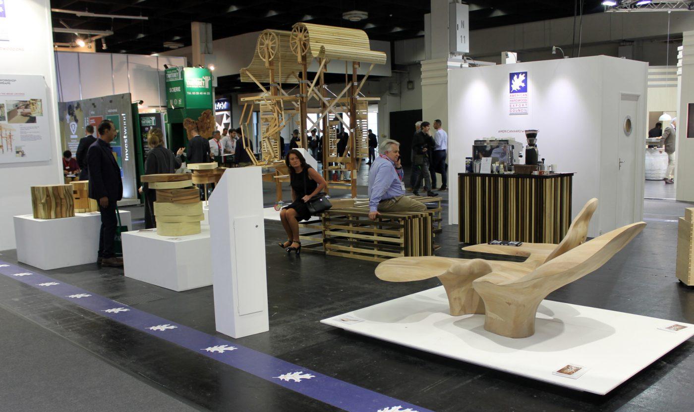 La madera de frondosas estadounidenses será centro de atención en INTERZUM