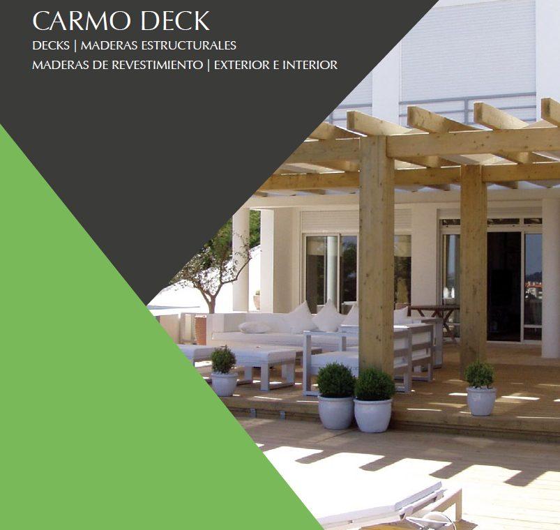 Nuevo catálogo de maderas CARMO Wood