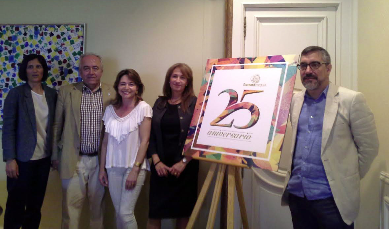 COSE, presente en el XXV aniversario de FORESNA-ZURGAIA