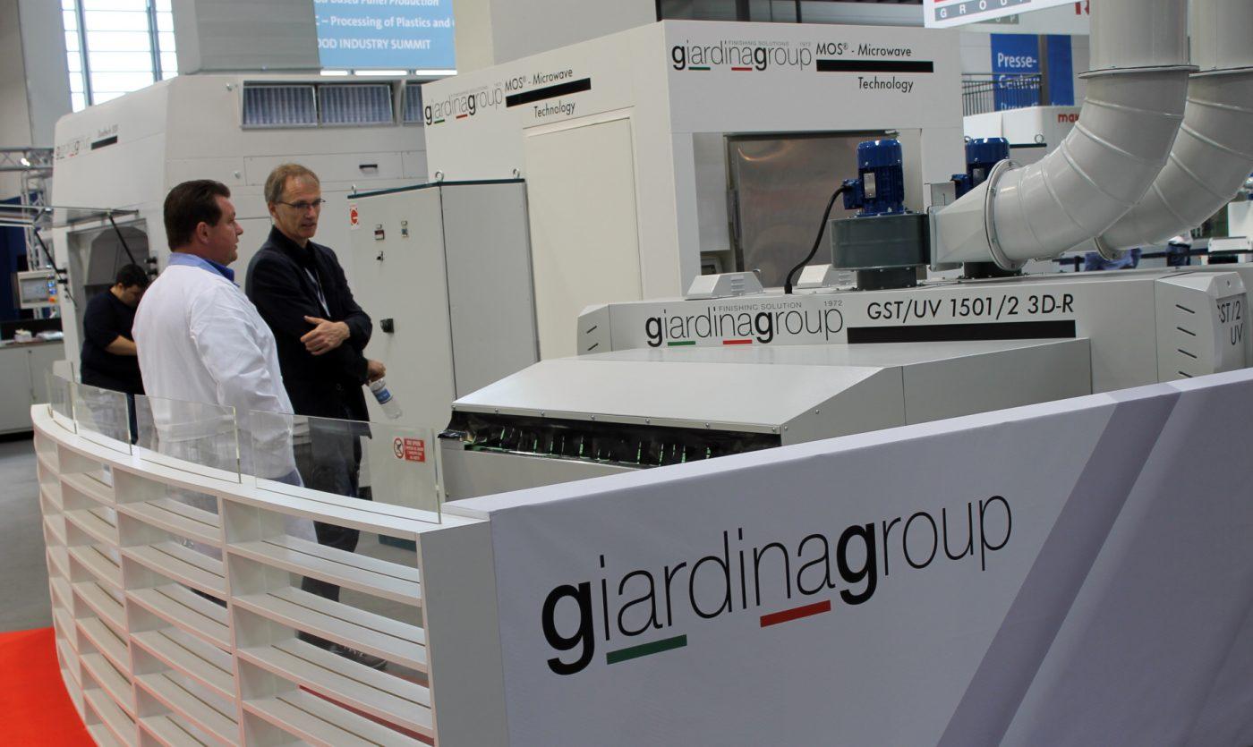 Las nuevas tecnologías de GIARDINA estarán en LIGNA