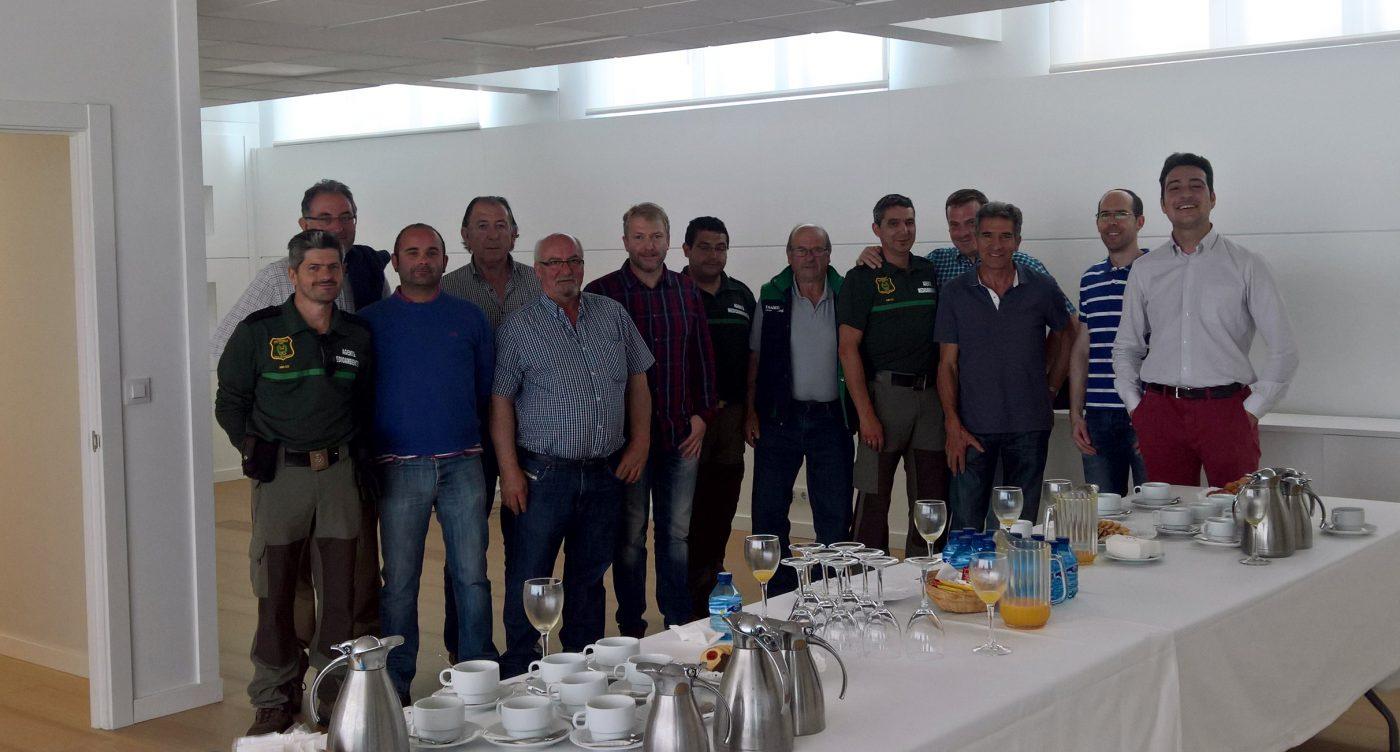 La MANCOMUNIDAD de los 150 Pueblos de Soria visita las instalaciones de LOSAN
